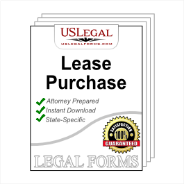Lease Purchase Agreements Package