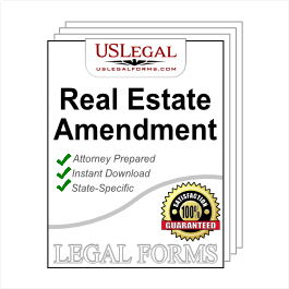 Real Estate Contract Amendment