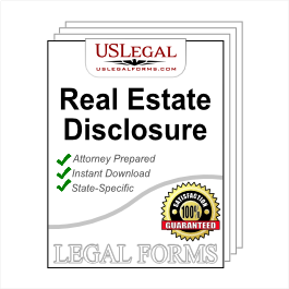 Real Estate Disclosure Statement