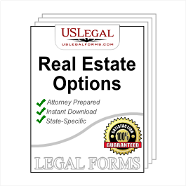 Real Estate Option to Purchase Package